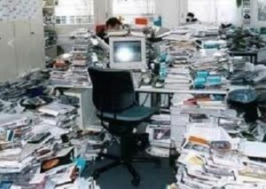 The Remedy for Those Overwhelming Paper Piles