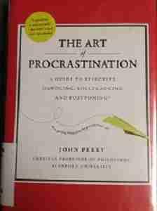 art of procrastination