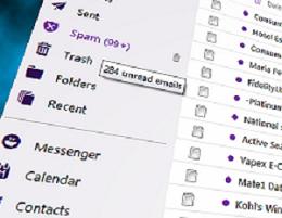 email folder list