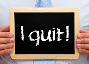 when to quit